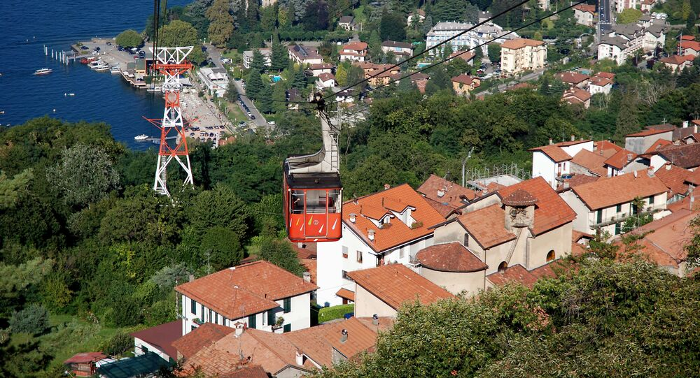 Kolejka linowa Stresa-Alpino-Mottarone
