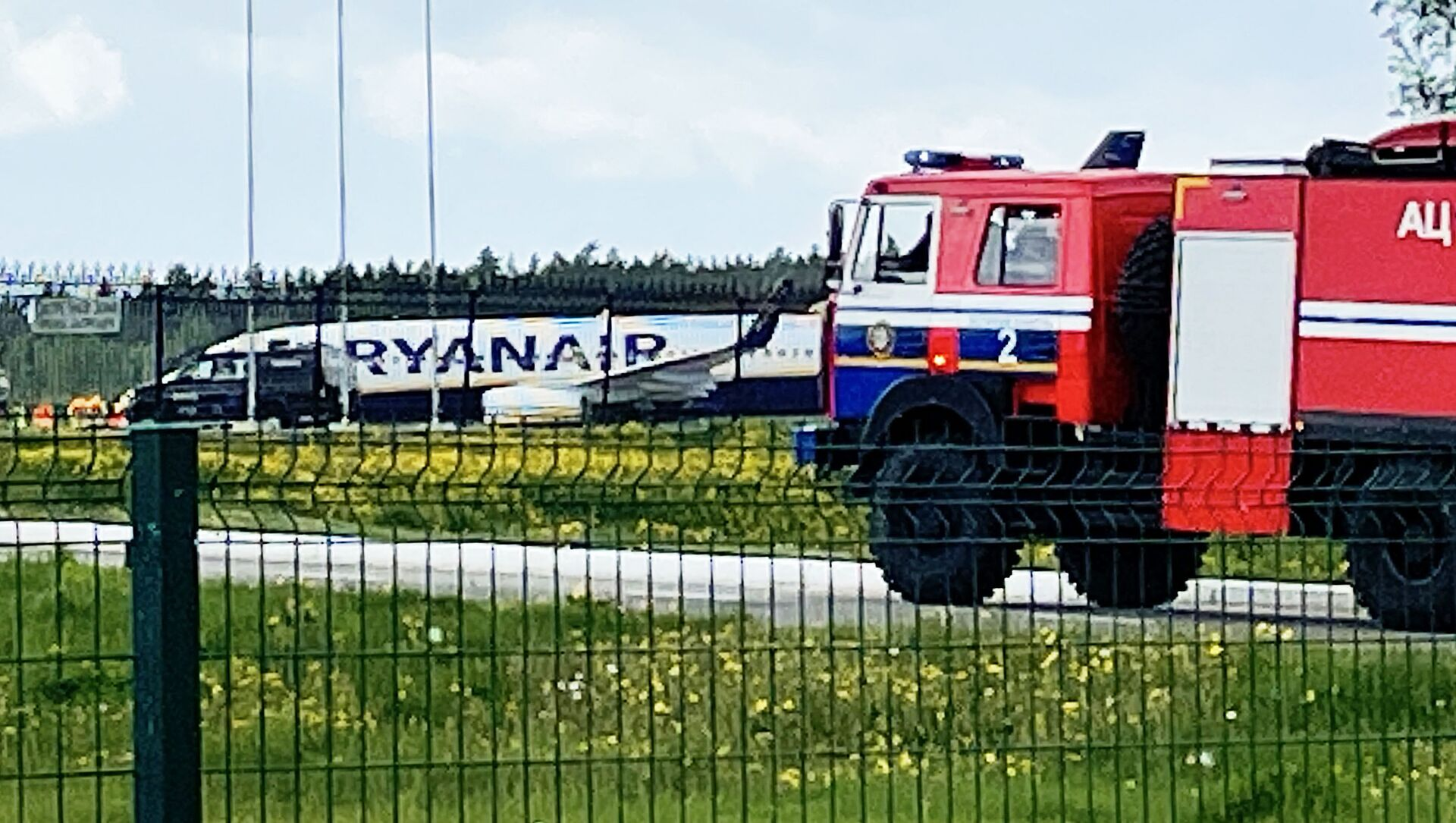 Samolot Ryanair w Mińsku - Sputnik Polska, 1920, 28.05.2021