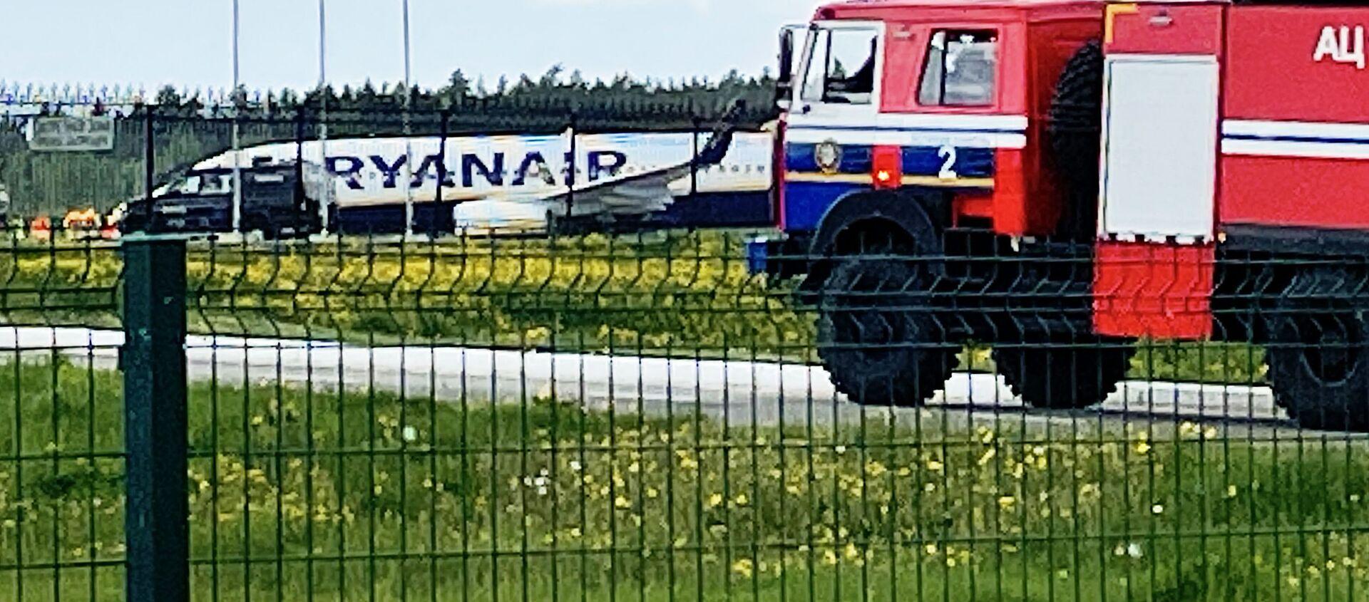 Samolot Ryanair w Mińsku - Sputnik Polska, 1920, 24.05.2021