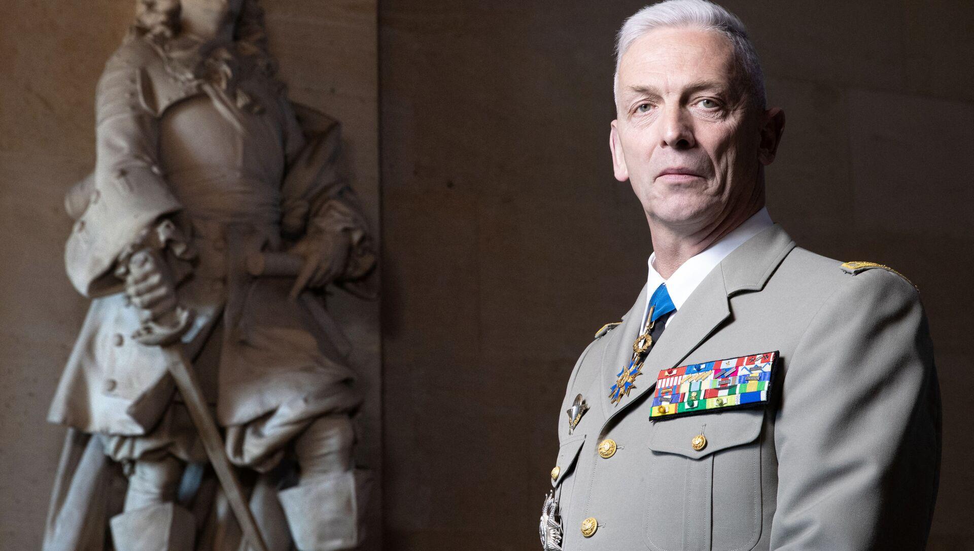 Szef Sztabu Generalnego francuskiej armii François Lecointre - Sputnik Polska, 1920, 25.05.2021