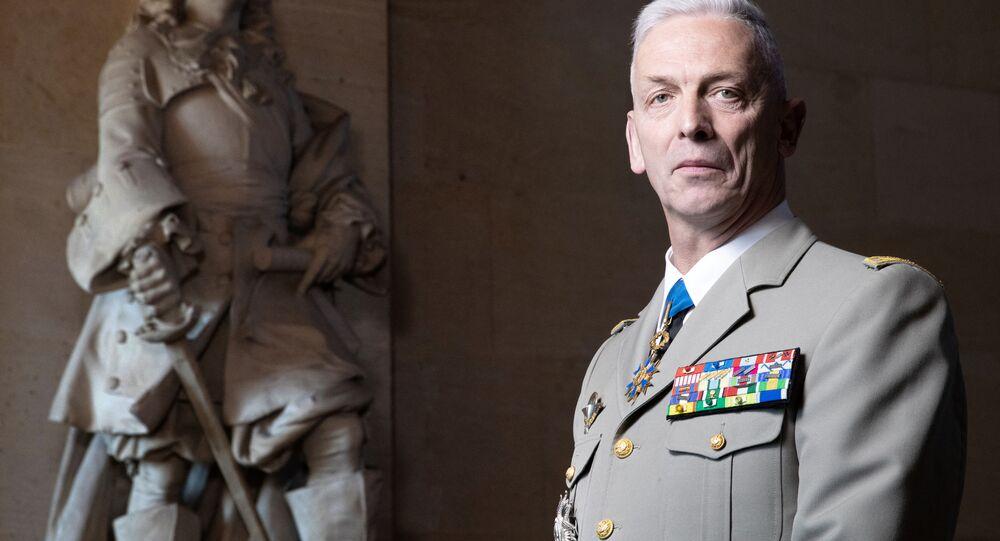 Szef Sztabu Generalnego francuskiej armii François Lecointre