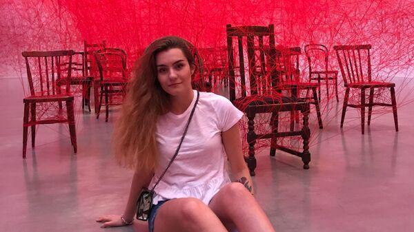 Rosyjska studentka Sofia Sapiega w Göteborgu w Szwecji - Sputnik Polska