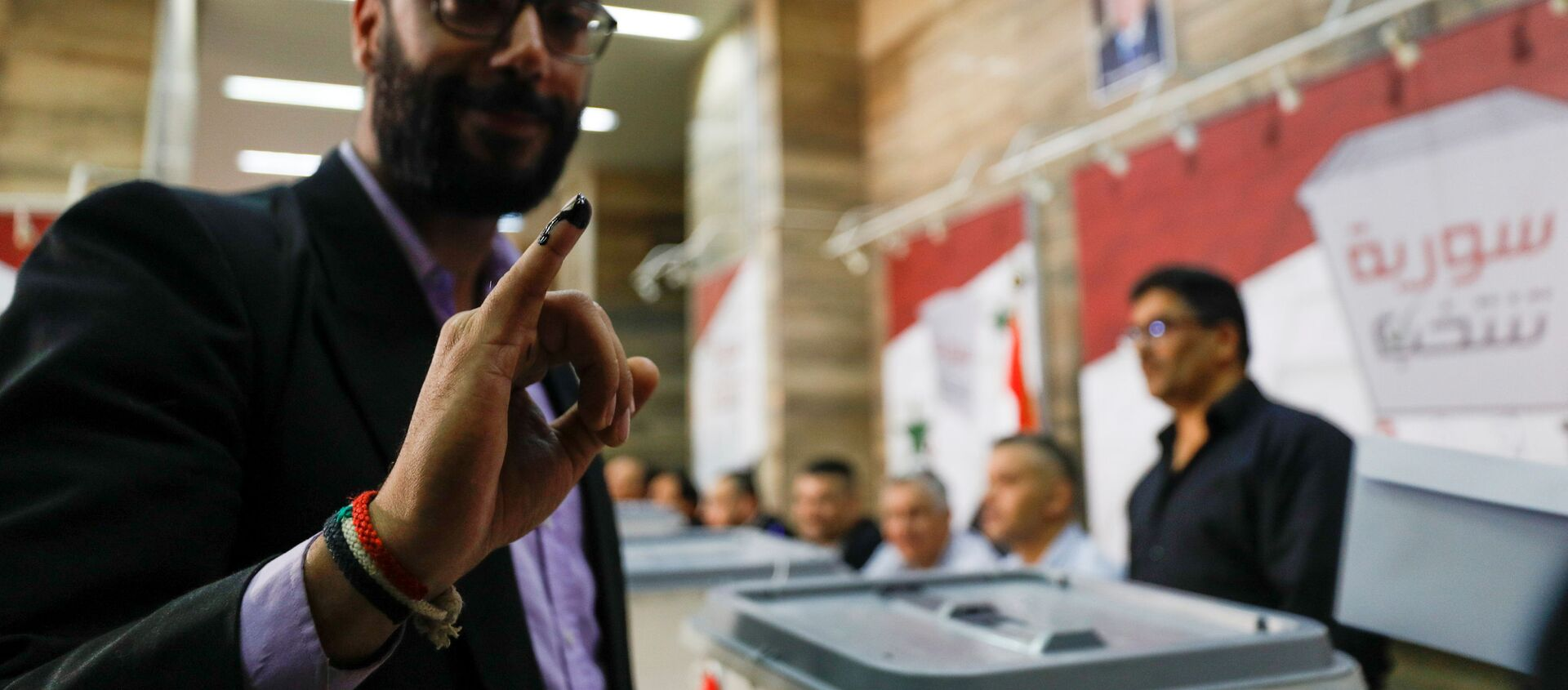 Wyboru prezydenckie 2021 w Syrii - Sputnik Polska, 1920, 26.05.2021