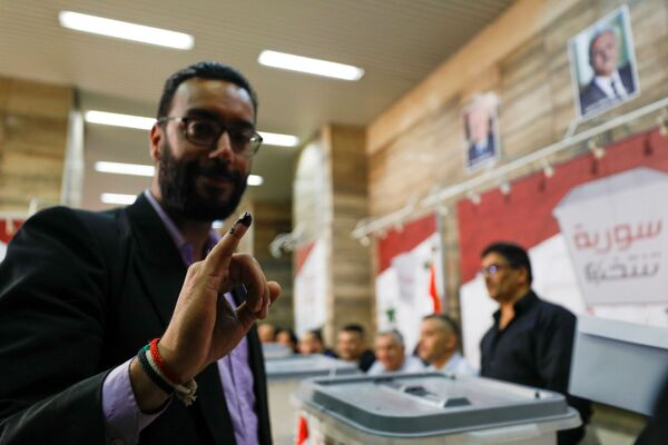 Wybory prezydenckie 2021 w Syrii - Sputnik Polska