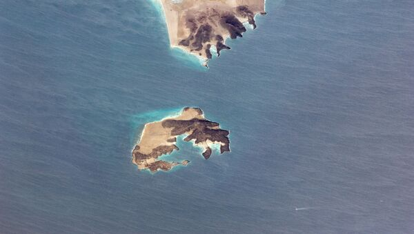Wyspa Perim w cieśninie Bab al-Mandab - Sputnik Polska