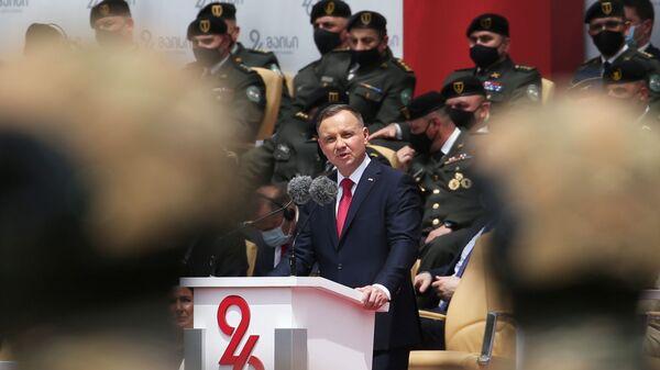 Andrzej Duda z wizytą w Gruzji - Sputnik Polska