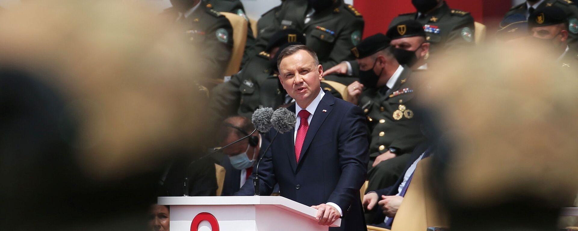 Andrzej Duda z wizytą w Gruzji - Sputnik Polska, 1920, 22.07.2021