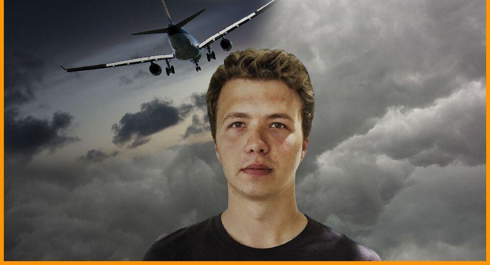 Aresztowanie Protasevicha: co się stało z samolotem Ryanair?