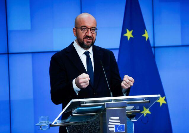 Przewodniczący Rady Europy Charles Michel