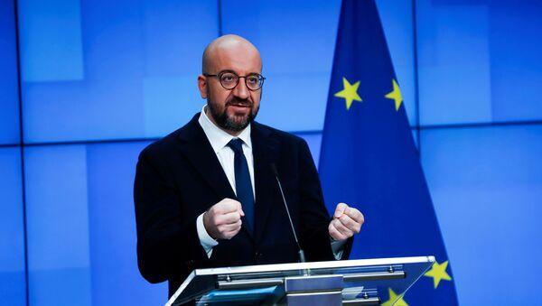 Przewodniczący Rady Europy Charles Michel - Sputnik Polska