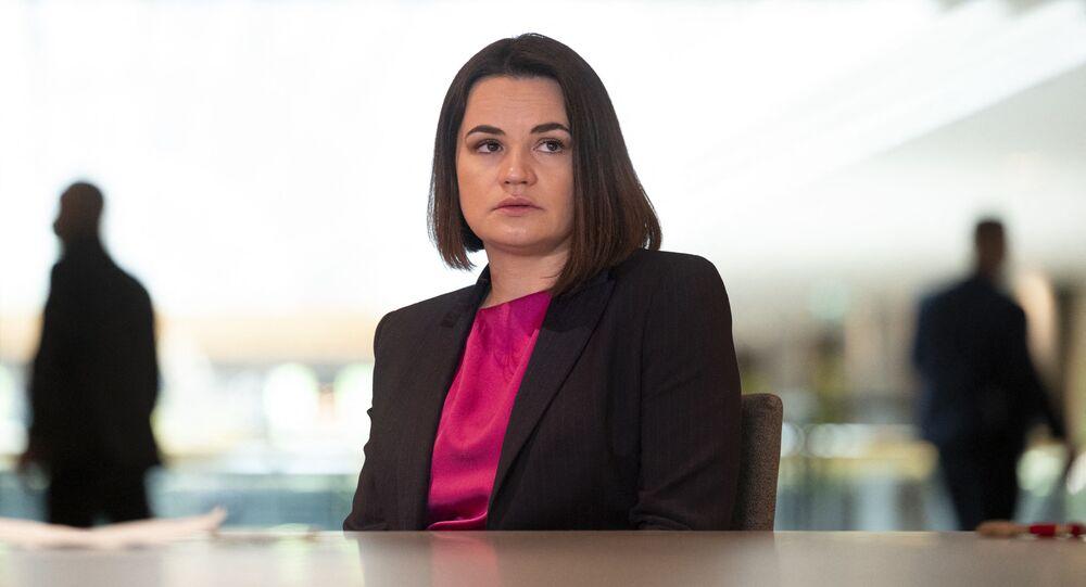 Liderka białoruskiej opozycji Swiatłana Cichanouska.