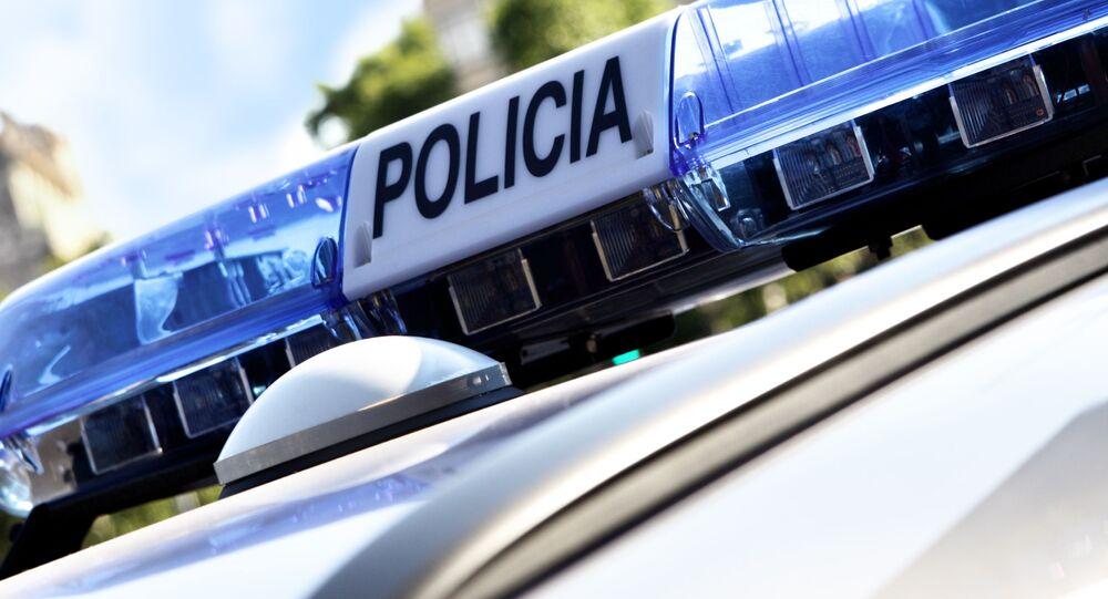 Hiszpańska policja.