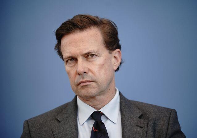 Rzecznik rządu Niemiec Steffen Seibert.