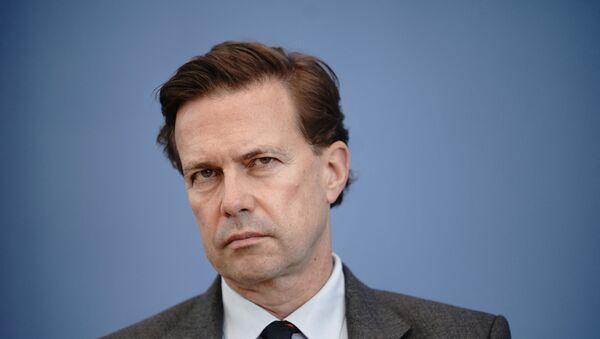Rzecznik rządu Niemiec Steffen Seibert. - Sputnik Polska