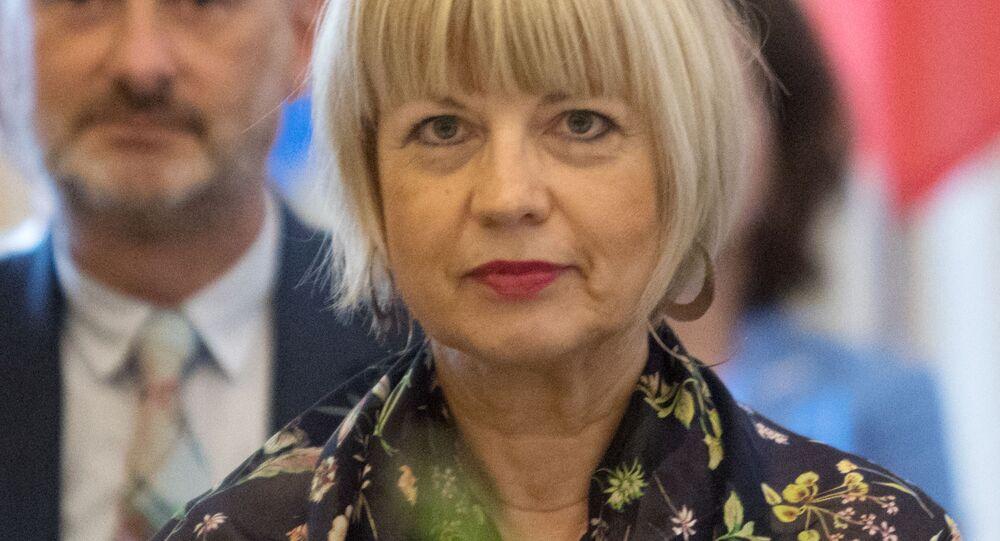 Sekretarz generalna OBWE Helga Schmid.