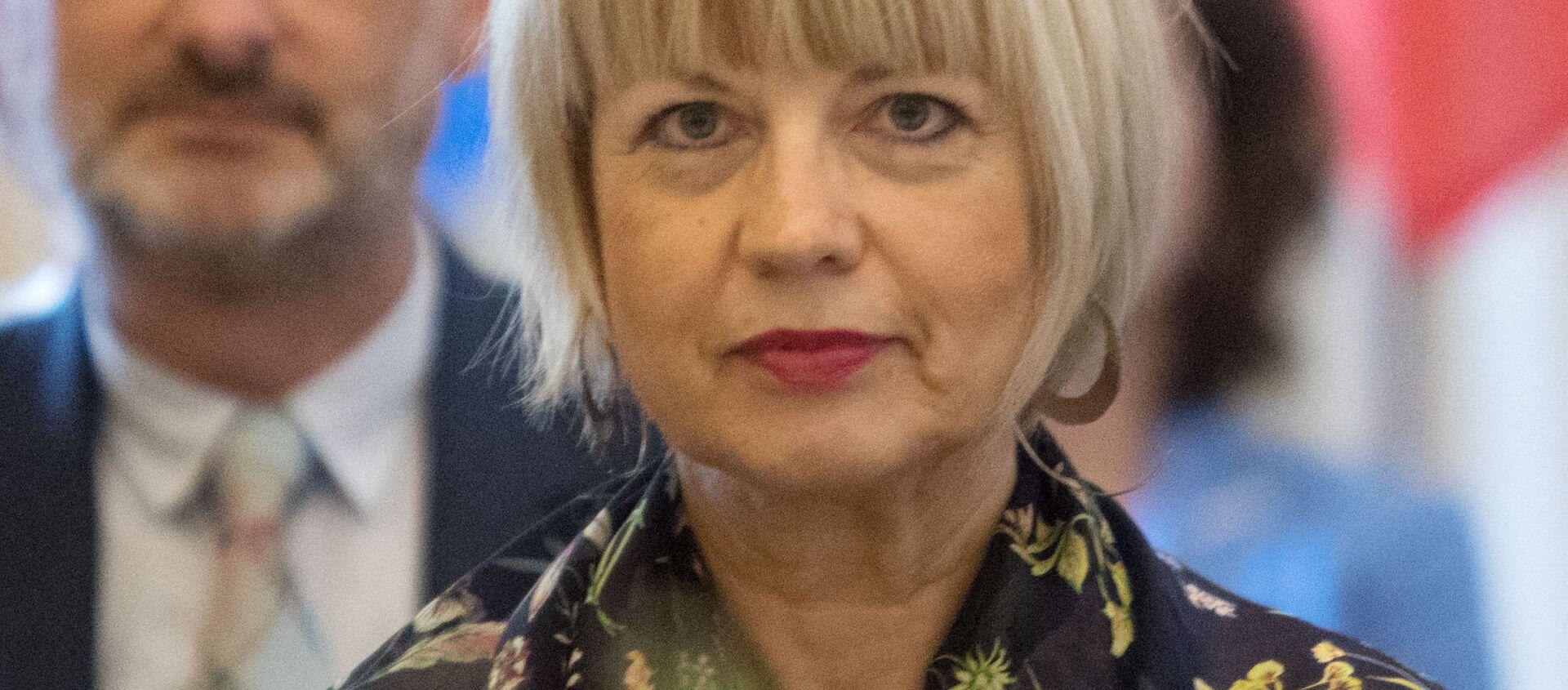 Sekretarz generalna OBWE Helga Schmid. - Sputnik Polska, 1920, 28.05.2021