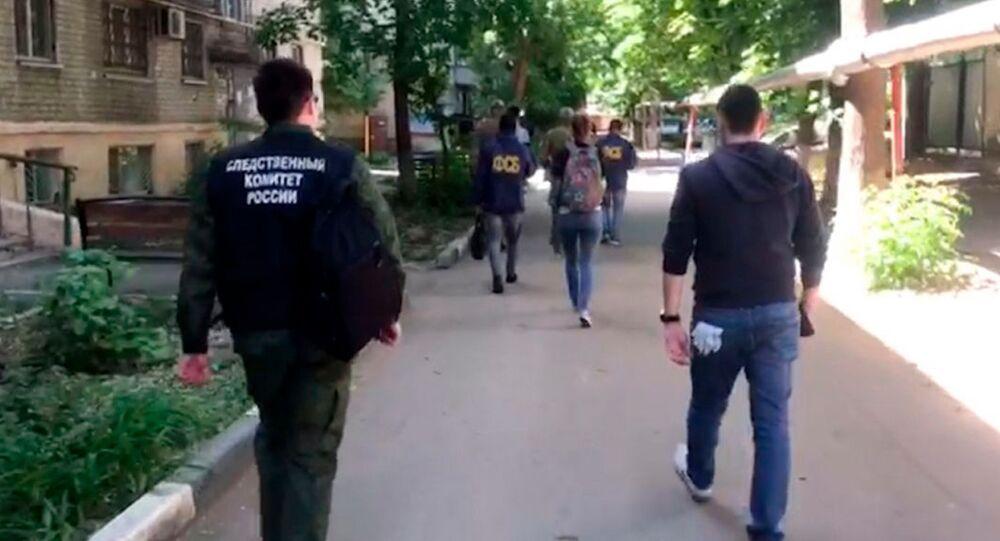 Zatrzymanie ekstremistów w Saratowie