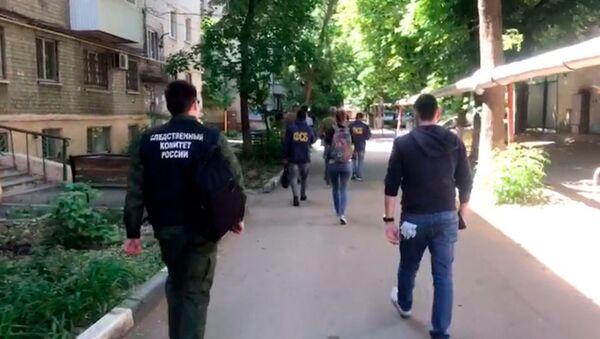 Zatrzymanie ekstremistów w Saratowie - Sputnik Polska