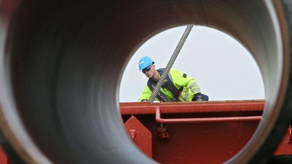 Budowa rurociągu - Sputnik Polska