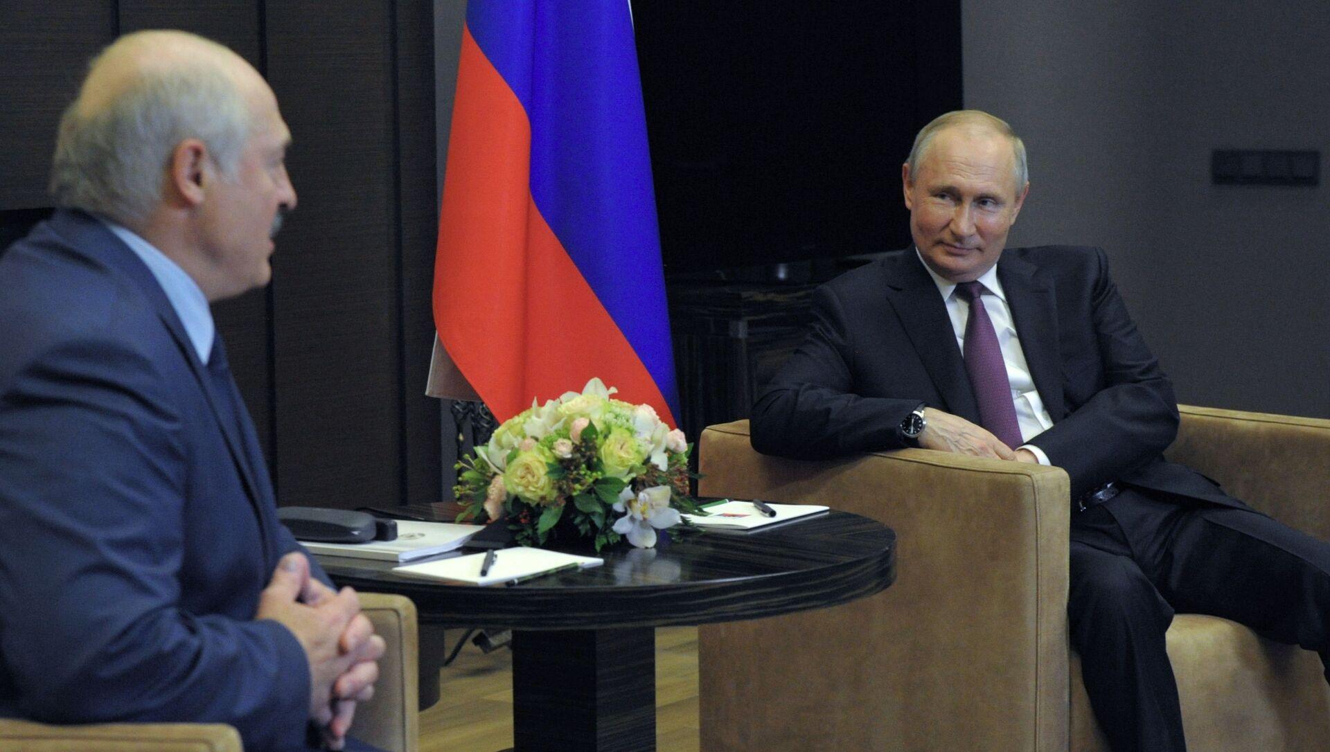 Spotkanie Putina z Łukaszenką w Soczi - Sputnik Polska, 1920, 29.05.2021