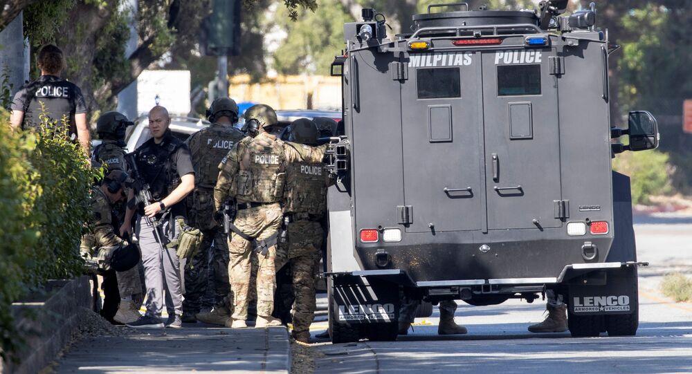 Strzelanina w Kalifornii.