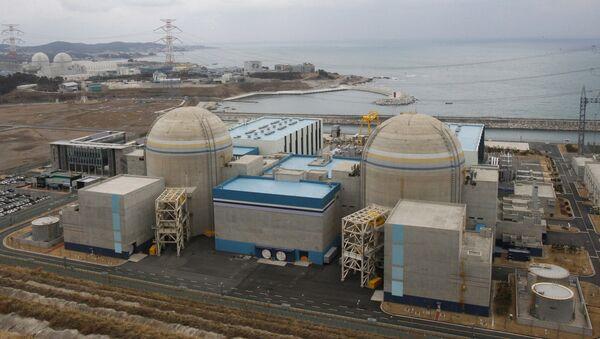 Elektrownia jądrowa Shin-Kori w Ulsan w Korei Południowej. - Sputnik Polska