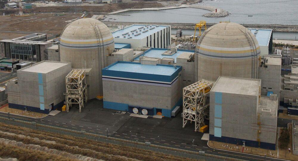 Elektrownia jądrowa Shin-Kori w Ulsan w Korei Południowej.