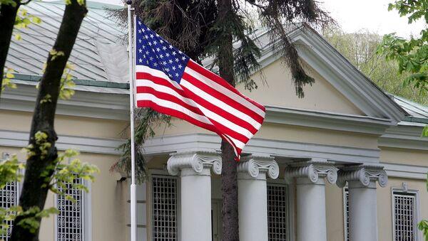 Ambasada USA w Mińsku. - Sputnik Polska