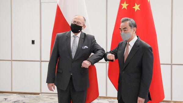 Spotkanie szefów dyplomacji Polski i Chin - Sputnik Polska