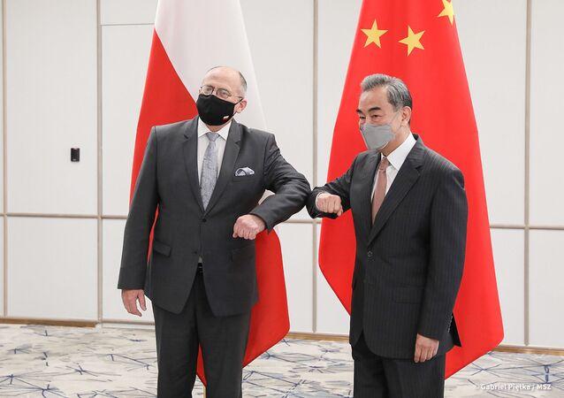 Spotkanie szefów dyplomacji Polski i Chin