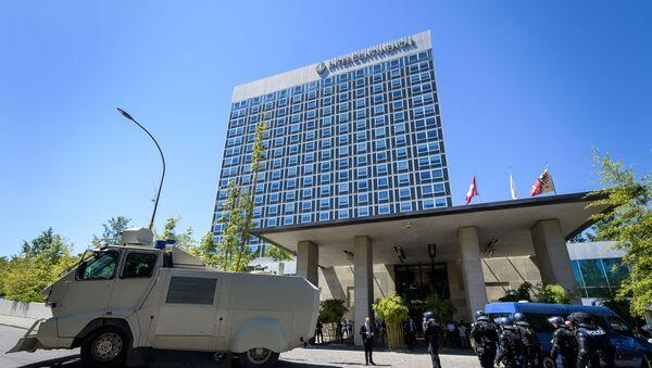 Hotel Intercontinental w Genewie, Szwajcaria - Sputnik Polska