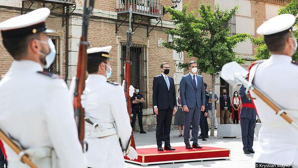 Premier Mateusz Morawiecki w Hiszpanii - Sputnik Polska
