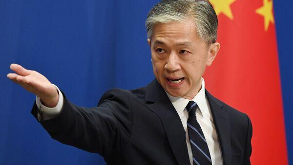 Rzecznik prasowy chińskiego MSZ Wang Wenbin - Sputnik Polska