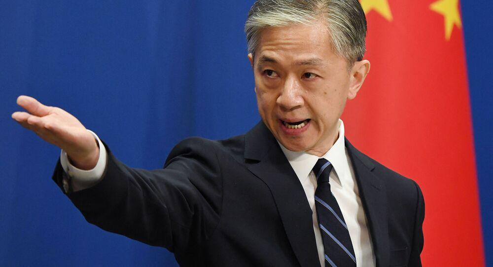 Rzecznik prasowy chińskiego MSZ Wang Wenbin
