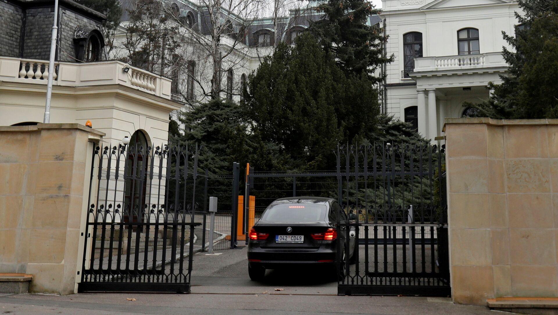 Budynek Ambasady Rosji w Pradze, Czechy - Sputnik Polska, 1920, 01.06.2021