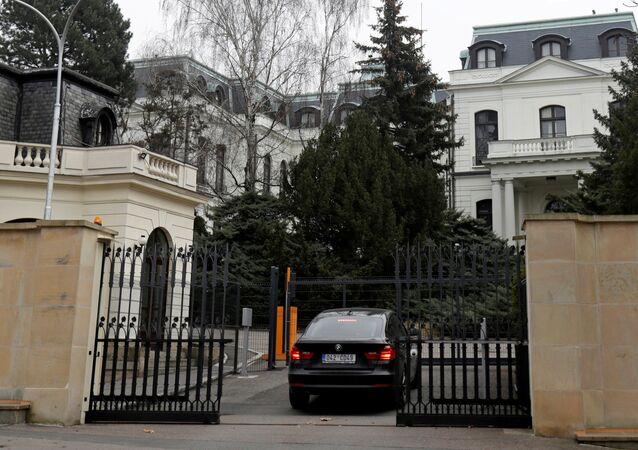 Budynek Ambasady Rosji w Pradze, Czechy