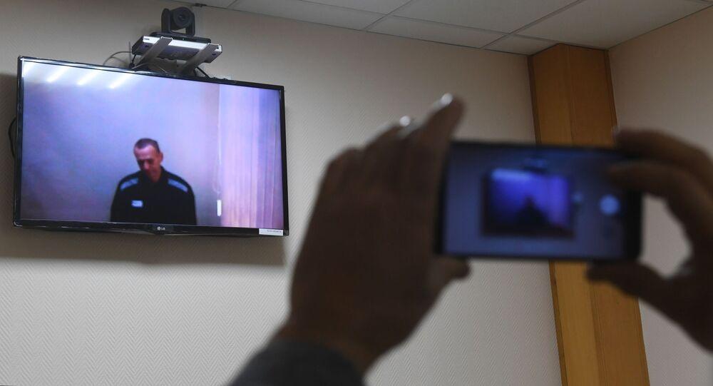 Rozpatrzenie pozwu A. Nawalnego przeciwko kolonii karnej nr 2