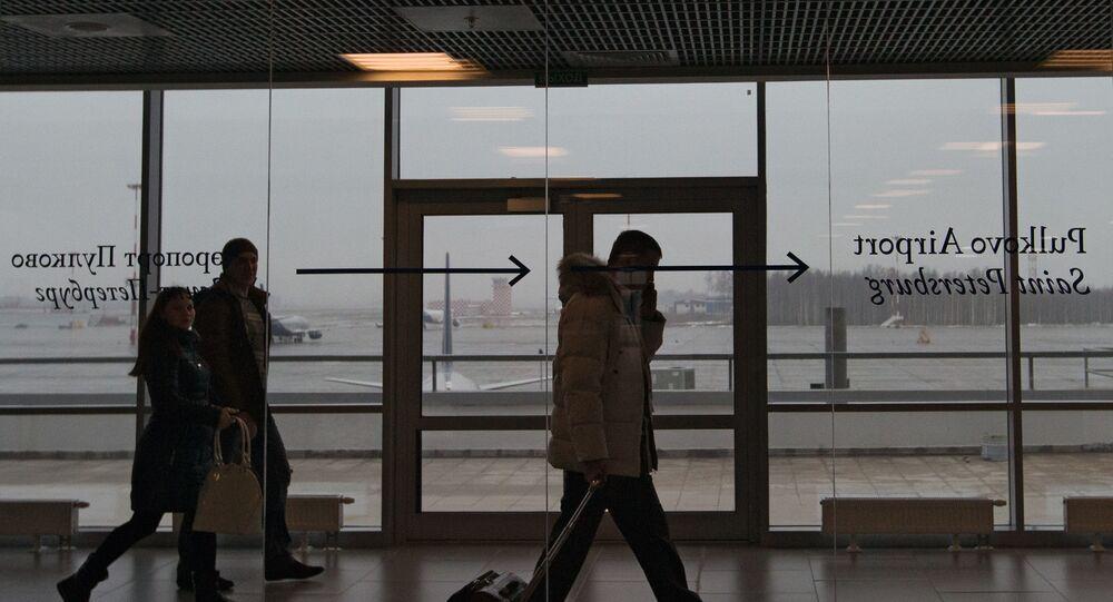 Lotnisko Pułkowo, Petersburg