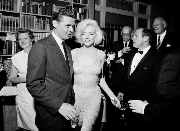 Marilyn Monroe w Madison Square Garden w maju 1962 roku - Sputnik Polska