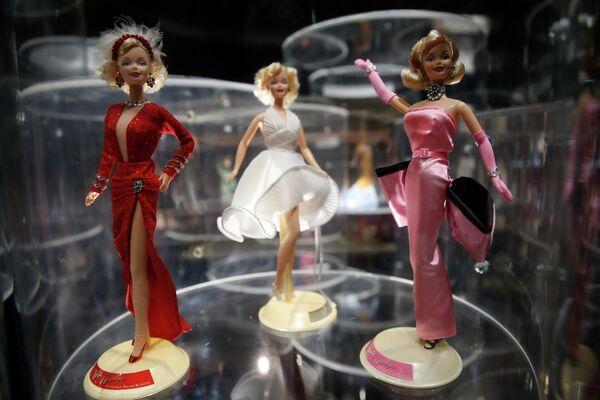 Lalki Barbie, zainspirowane Marilyn Monroe - Sputnik Polska