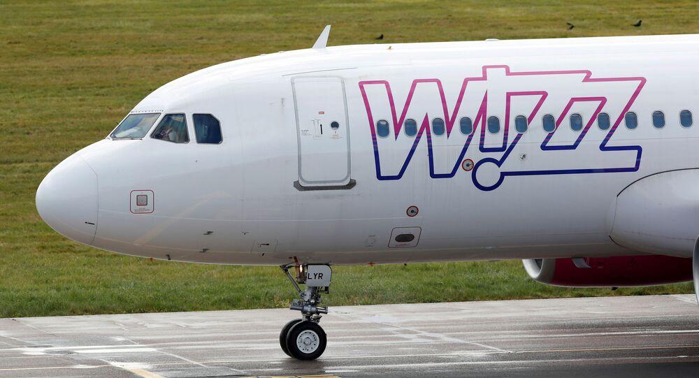 Samolot linii lotniczej Wizz Air