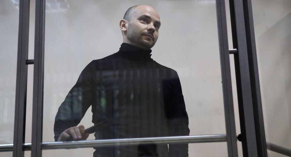 Były dyrektor Otwartej Rosji Andriej Piwowarow