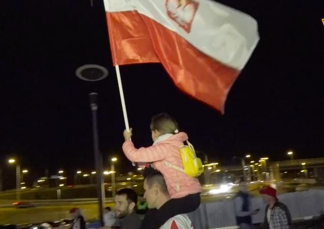Emocje kibiców po meczu Polska-Rosja
