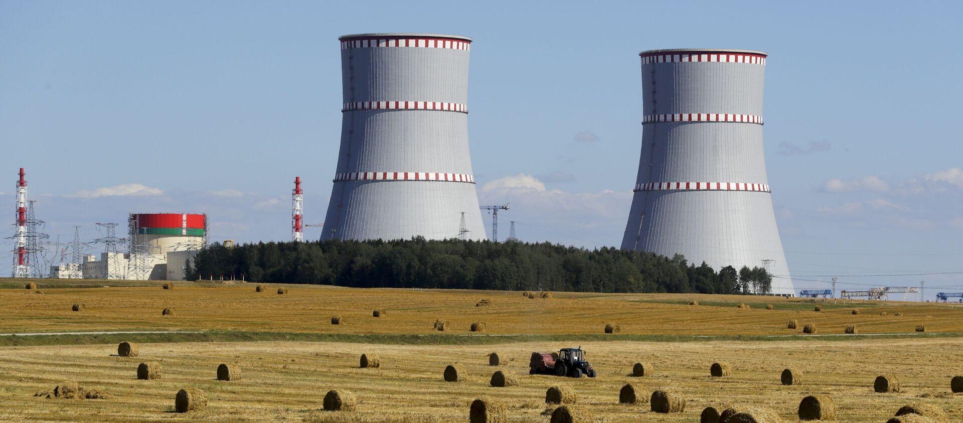Białoruska Elektrownia Jądrowa. - Sputnik Polska, 1920, 03.06.2021