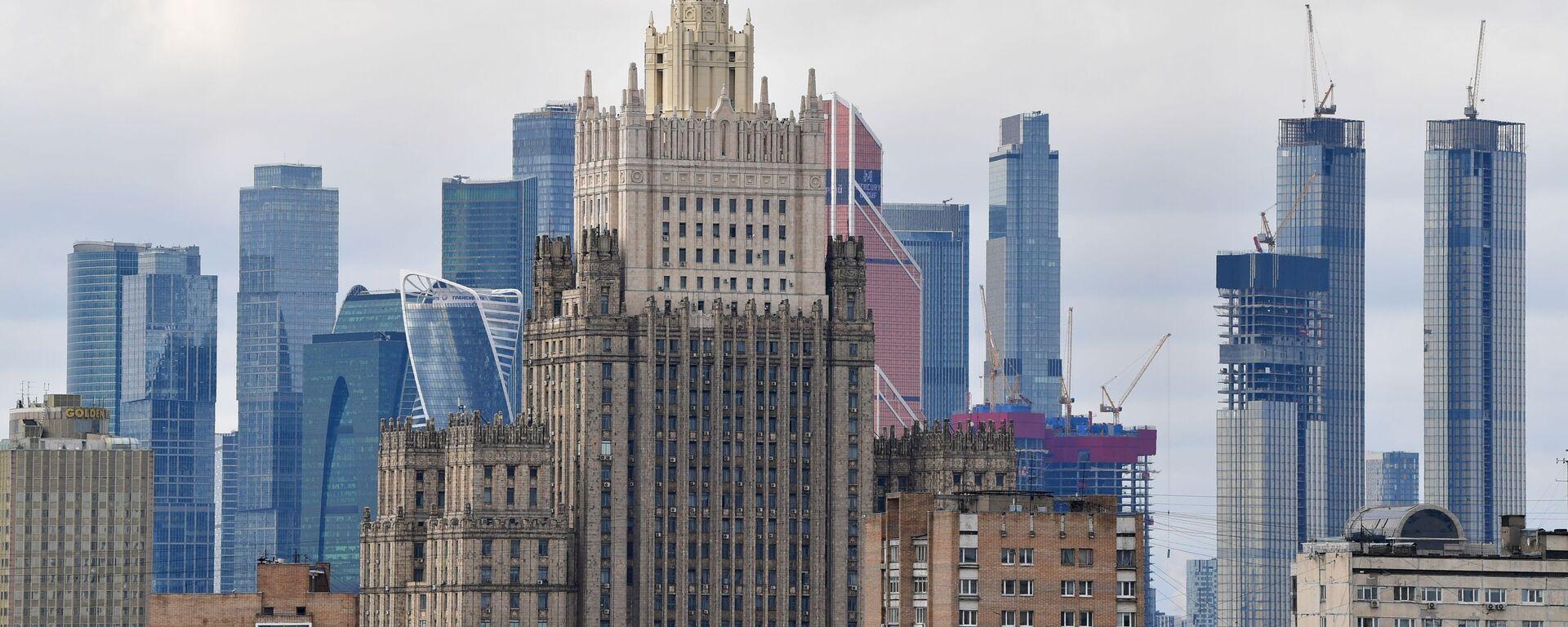 Gmach MSZ Rosji w Moskwie. - Sputnik Polska, 1920, 03.06.2021