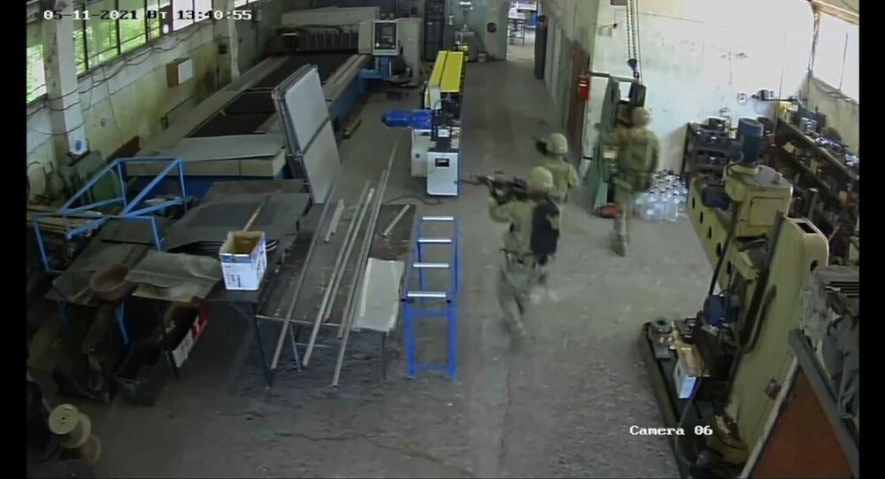 Wtargnięcie amerykańskich żołnierzy do warsztatu cywilnego w bułgarskim Czeszniegirowie.