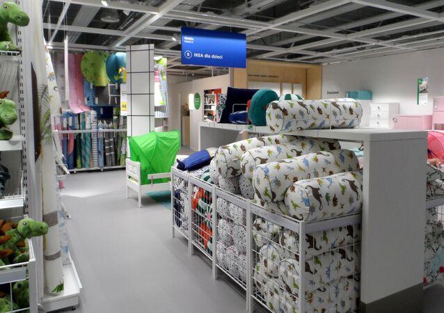 Sklep IKEA Szczecin  (dział dla dzieci)