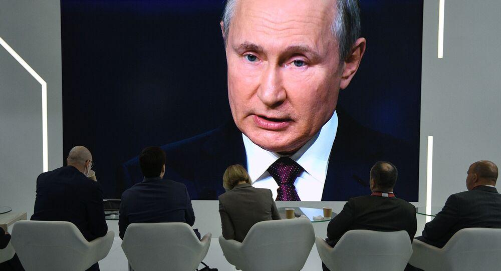 Władimir Putin na PMFE