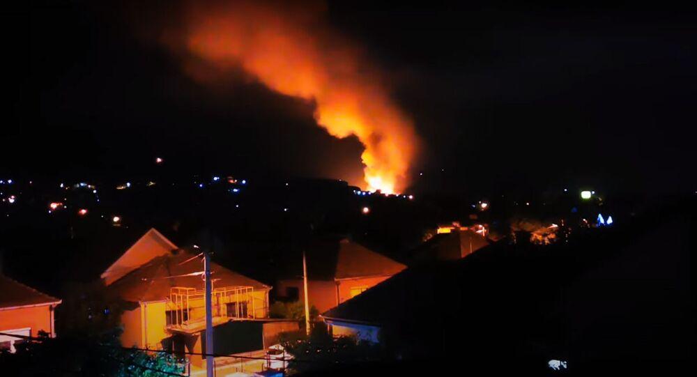 Eksplozje w serbskim zakładzie amunicji w mieście Cacak