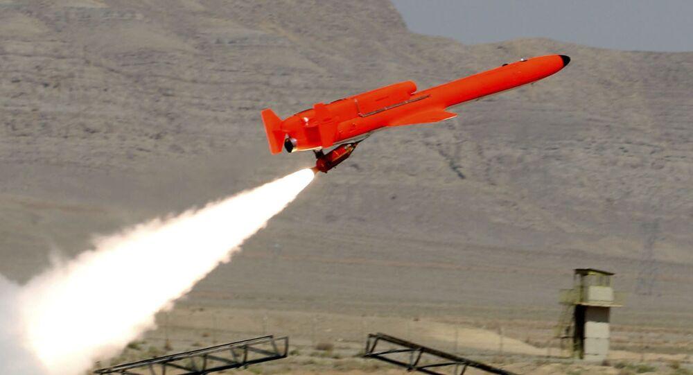 Irański samolot bezzałogowy typu Karrar